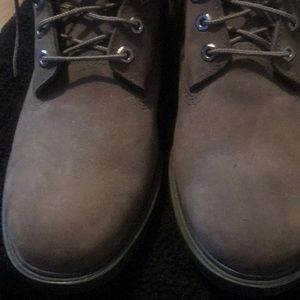 Men's grey suede size 11 Timberland
